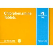 Chlorpheniramine 4mg Tablets