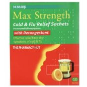 Cold & Flu Relief Max Strength Sachets