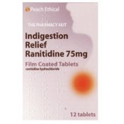 Ranitidine 75mg Indigestion Relief Tablets