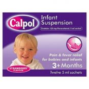 Calpol Sugar-Free Infant Suspension Sachets