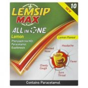 Lemsip Max All in One Lemon Satchets