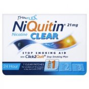 NiQuitin Clear 21mg Patches Step 1