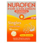 Nurofen for Children Strawberry Satchets