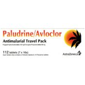 Paludrine/Avloclor Antimalarial Travel Pack